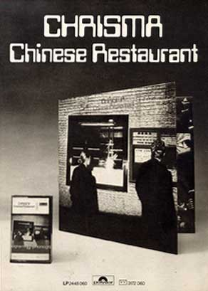 "Chinese Restaurant ad in ""Ciao 2001"" music magazine"