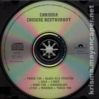 Chrisma - Chinese Restaurant CD version