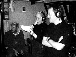 "Krisma and Subsonica recording ""Nuova Ossessione"""