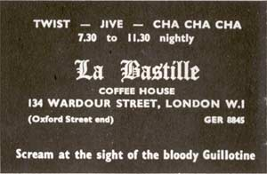 La Bastille - London Coffee House